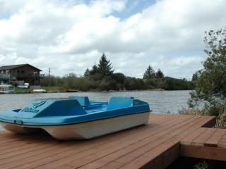 Rent boats next door