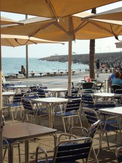 Eating on the Promenade at Torrevieja