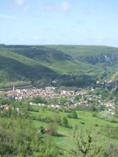 View over Saint Antonin Noble Val