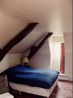 A second floor bedroom
