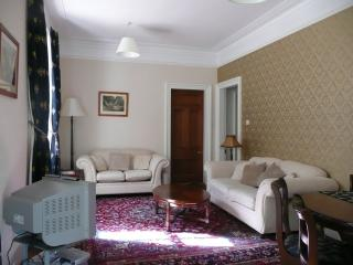 Double aspect living/dining room. With sofa bed.