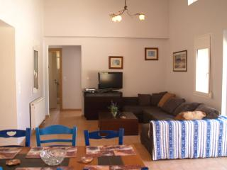 The Living Room and Inside Dining area