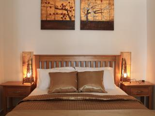 Your double bed area....very romantic!