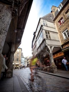 Biking in Dinan