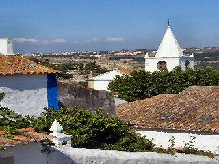 """Casa Aurora"" in Obidos.      World Heritage Site, Óbidos"