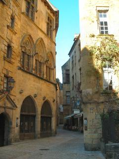 Winding streets of medieval  Sarlat