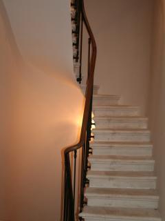 Original stone staircase
