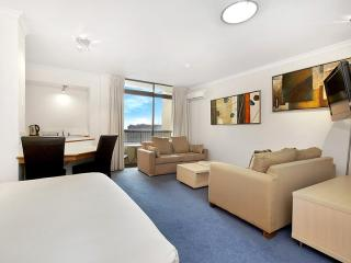 Hyde Park Plaza Furnished Studio, Sídney