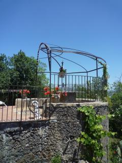 San Gerardo terrace