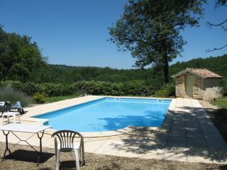 Pool looking East towards Parisot