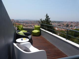 Holiday flat rooftop terrace great view Lisbon