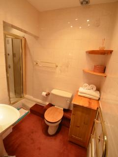 Shower Room and lavatory