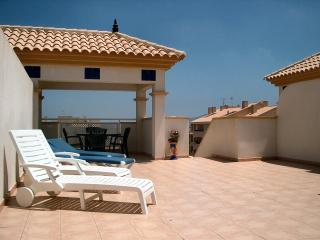 Luxury Penthouse with  Pool, WiFi, Sky TV, Beach, Mar de Cristal