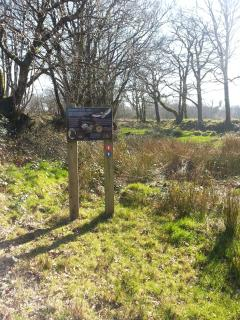 County wildlife site, DWT gold award winning since 2004 working for the benefit of Devon's wildlife