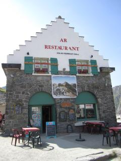 Mountain Restaurant at the top