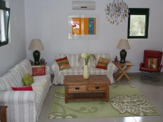 Comfortable seating in the air-conditioned living room