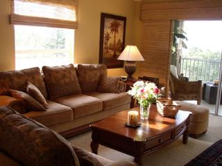 Living Room with Lanai, HD TV, DVD, CD player