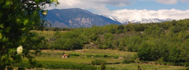 Hill scenery near Vinca