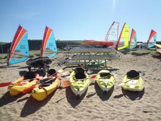 Beyond the Break  with free Watersports equipment., St Austell