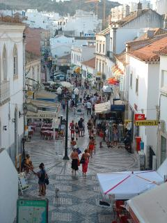 Old Town Albufeira Steets