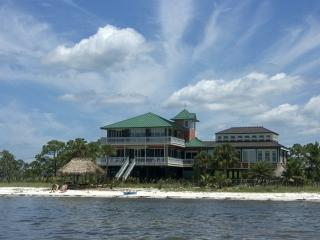 1/4 mile of beachfront estate on 16 acres, elevato, Carrabelle