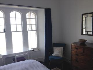 Downstairs bedroom with seaview