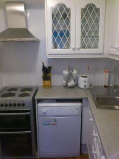 Mews kitchen, dishwasher, washingmachine , microwave  etc