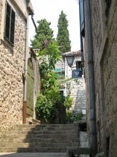 Typical pathway, Herceg Novi Old Town
