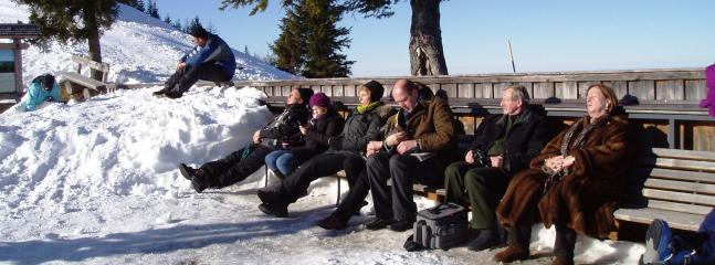 Sunbathing on the Zwolferhorn