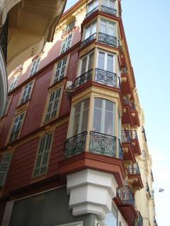 typical corner building