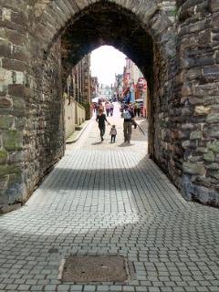 15.Medieval Walled town of Conwy,Bars,restaurants,shops.Hosts annual Food Festival in October