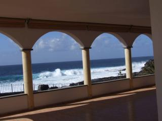 Fantastic view of the ocean from the terrace.