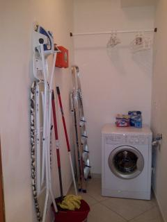 Utility room fully equiped for your every need