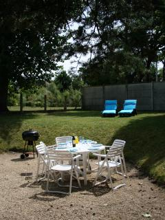 Enjoy a barbecue in the garden or relax in the sun