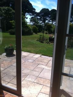 Sun patio to mature private gardens