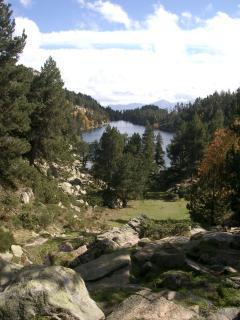 Lac Bouillouses near Mont Louis