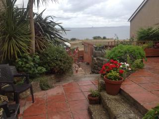 View of Mounts' Bay from garden