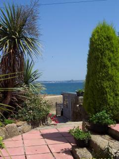 Garden with view across to St. Michael's Mount
