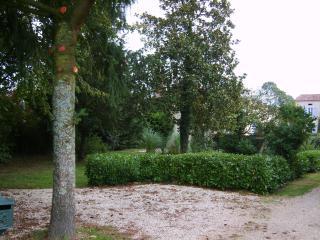 The front garden entrance