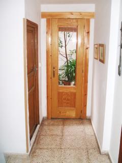 The first floor hallway