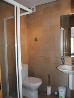 Ensuite shower room for 2 bedroom apartment, East Algarve, Portugal