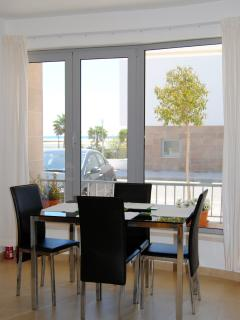 Dinning are, for 2 bedroom apartment, Fuseta, East Algarve, Portugal