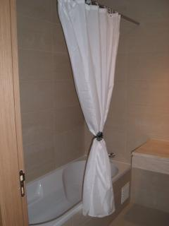 Bathroom in 2 bedroom apartment, Fuseta, East Algarve, Portugal