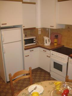 Large fully equiped kitchen with all mod cons