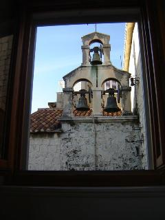 View from side window