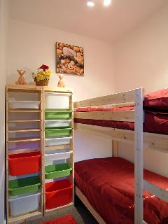 Small Bedroom with Bunk Beds