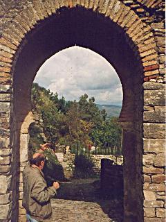 The Moorish castle gateway