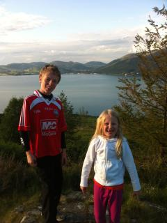 Stunning view of Carlingford Lough
