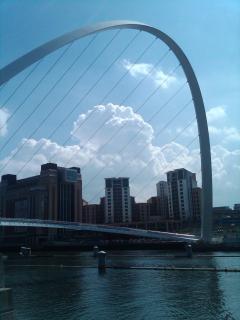 Newcastle Millenium bridge