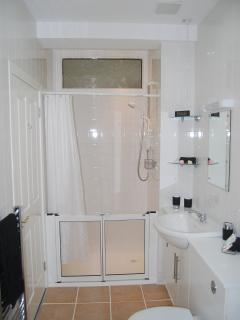 The Annexe - Bathroom - walk in shower area
